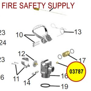 Amerex 03787 Disc Safety Assembly V-23