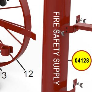 Amerex 04128 Cylinder Nitrogen 110 Assembly Red