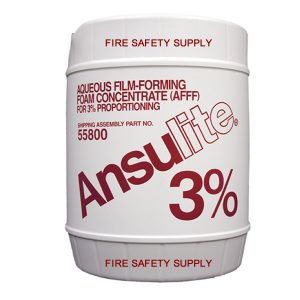 ANSULITE 3% AFFF (AFC-3-A) fire fighting foam, 5 gal. pa - #55800