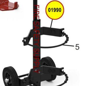 Amerex 01990 Bumper Grom Rubber 7/8