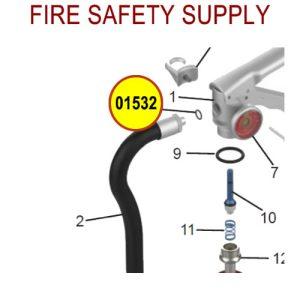 Amerex 01532 O-Ring Aluminum 3/8 Hose