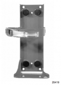 SentryDryChemical,CO2,&CleanguardExtinguisherBrackets25419