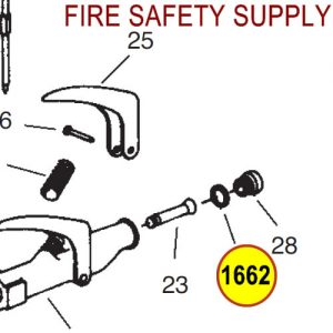 Ansul 1662 Red Line Nozzle Tip Gasket