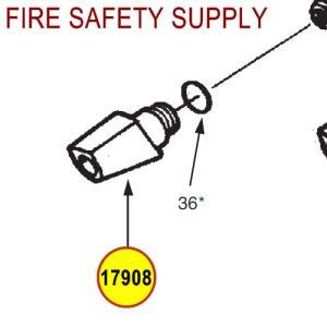 Ansul 17908 Red Line Nozzle Tip