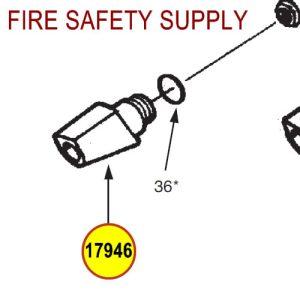 Ansul 17946 Red Line Nozzle Tip