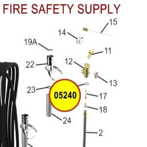 Amerex 05240 O-Ring Collar Brass Valve Sales