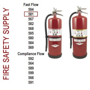 Amerex 581 20 lb. High Performance Dry Chemical Extinguisher