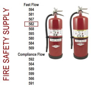 Amerex 582 20 lb. High Performance Dry Chemical Extinguisher