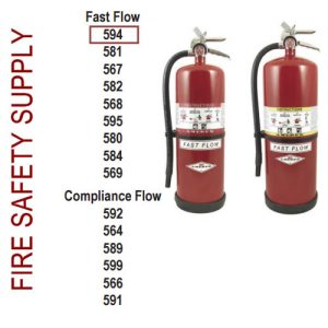 Amerex 594 13 lb. High Performance Dry Chemical Extinguisher