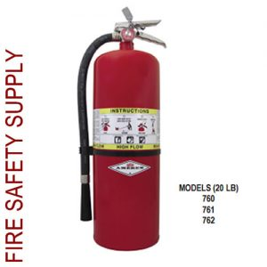 Amerex 762 20 lb. High Flow Dry Chemical Extinguisher