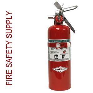 Amerex B355T 5 lb. Halon 1211 Clean Agent Extinguisher