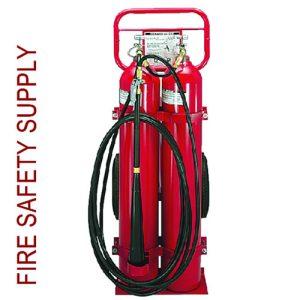 "Amerex 334 100 lb. CO2 w/16"" Full-Pneumatic Wheels"