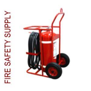 Amerex 483 125 lb. Dry Chemical Nitrogen Cylinder Operated Extinguisher