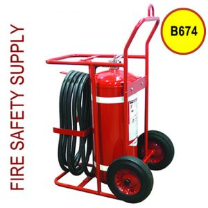 Amerex B674 150 lb. Halotron 1 Clean Agent Extinguisher