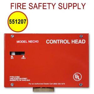 PyroChem 551207 - NECH-120V Control Head, Electrical, 120VAC, No Local Actuation