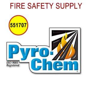 PyroChem 551707 - Valve-Cap/Rubber Seal Assembly, ATDII-35BC/ATD-80SBC