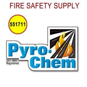 PyroChem 551711 - Rebuilding Kit, Dry Valve Seal, ATDII-35BC Only