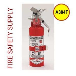 Amerex A384T 1.4 lb. Halotron 1 Clean Agent Extinguisher