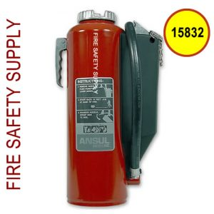 Ansul 15832 RED LINE 20 lb. Extinguisher with Bracket (MIL-RP-K-20-E)
