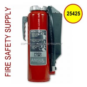 Ansul 25425 RED LINE 30 lb. Extinguisher with Bracket (MIL-RP-K-30-E)