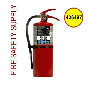 Ansul 436497 Sentry 10 lb. Fire Extinguisher, Plus Fifty C, C10S (60-B:C)
