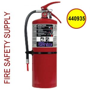 Ansul 440935 Sentry 10 lb. Purple-K High Flow Extinguisher (HF-PK10S)