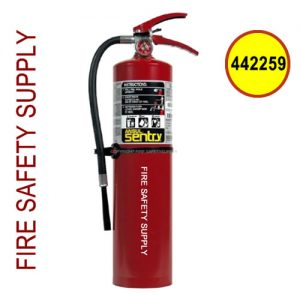 Ansul 442259 Sentry 5 lb. FORAY Chrome Extinguisher (A05-S)