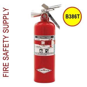 Amerex B386T 5 lb. Halotron 1 Clean Agent Extinguisher