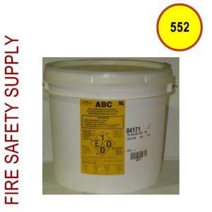 Amerex 552 - 25 Lb. Pail ABC