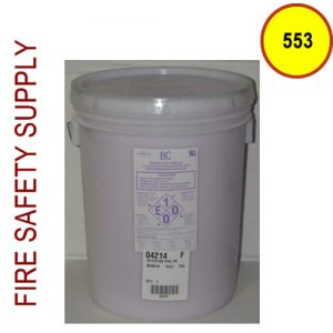 Amerex 553 - 25 lb. Pail Purple K